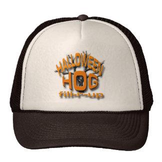 Halloween Hog Trucker Hat
