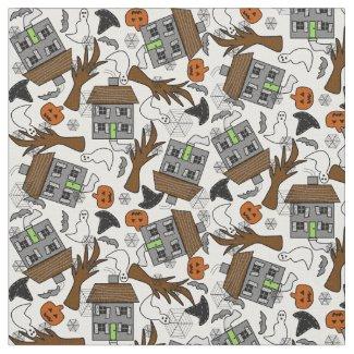 Halloween Holiday Custom Fabric