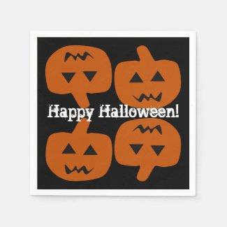 Halloween Holiday Paper Napkins