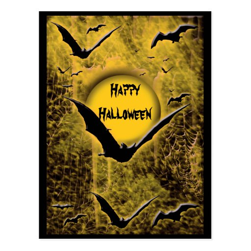 Halloween holidays greeting cards post cards