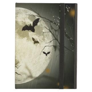 Halloween holidays mystery with fairy tale moon iPad cover