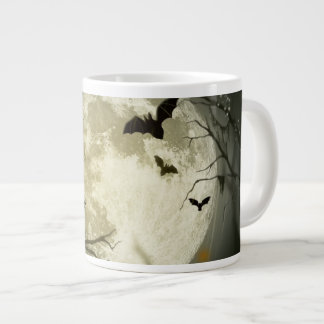 Halloween holidays mystery with fairy tale moon jumbo mugs