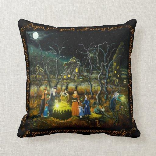 Halloween Home Decor Pillow The Lesson Zazzle