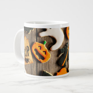 Halloween Homemade Gingerbread Cookies Large Coffee Mug