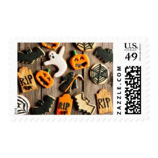 Halloween Homemade Gingerbread Cookies Postage Stamp