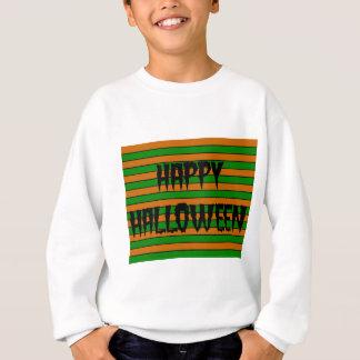Halloween Horizontal Stripes Sweatshirt