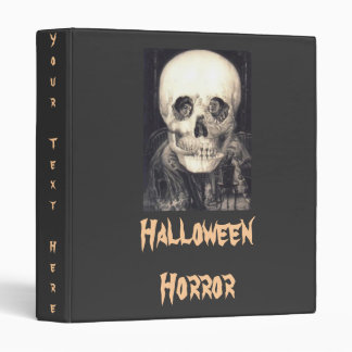 "Halloween Horror 1"" Binder"