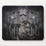 Halloween horror scary demon monster mouse pad