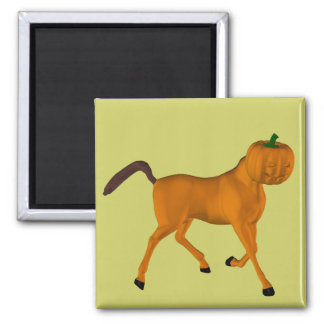 Halloween Horse 2 Inch Square Magnet