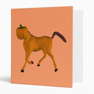 Halloween Horse Vinyl Binders