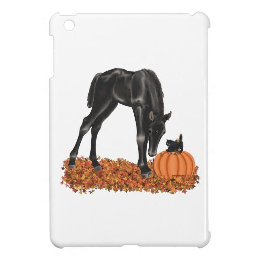 Halloween Horse Colt Kitty Cover For The iPad Mini