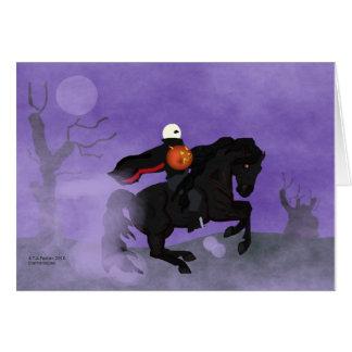 Halloween Horseman Card