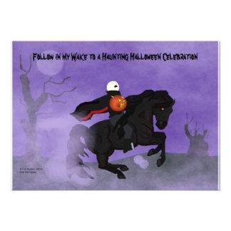 Halloween Horseman Invitation