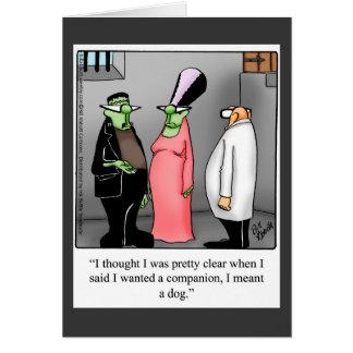 Halloween Humor Greeting Card For Halloween