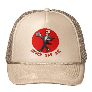 Halloween Humor! Never Say Die T shirts, Hoodies Hat