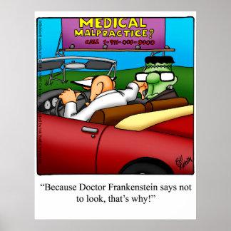 """Halloween Humor Poster Gift """"Spectickles"""""""