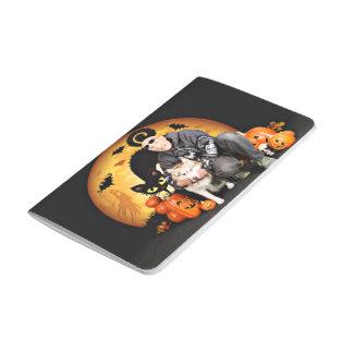 Halloween - husky siberiano - Nala Cuadernos