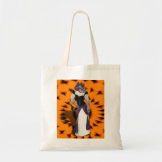 Halloween Hussy Tote Bags