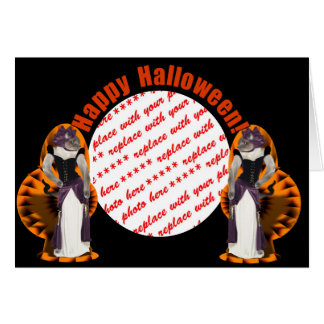 Halloween Hussy / Halloween Cat Greeting Cards