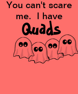 Halloween I have Quads tee