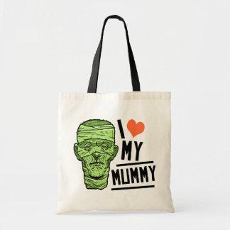 Halloween I Love my Mummy Tote Bag