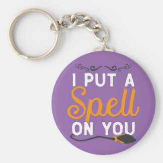Halloween - I Put A Spell On You Keychain
