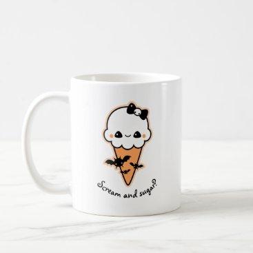 Halloween Themed Halloween Ice Cream Cone Coffee Mug