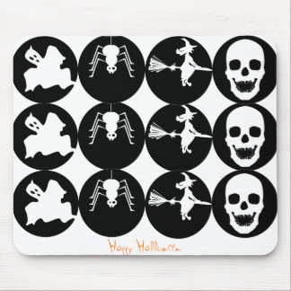 HALLOWEEN ICONS MOUSE PAD
