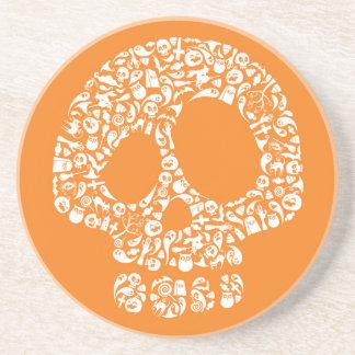 Halloween Icons - Skull Coaster