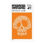 Halloween Icons - Skull Postage