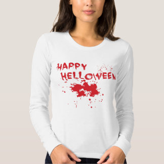 "Halloween idea: ""Happy Helloween"" written in blood Tee Shirt"