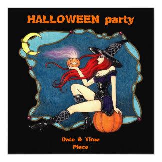 """Halloween III Invitación 5.25"""" X 5.25"""""""