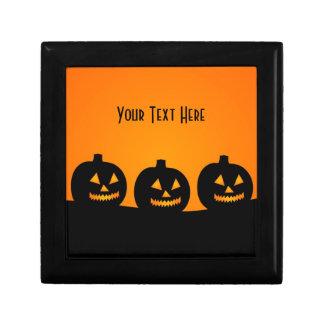 Halloween Illustration Jewelry Box