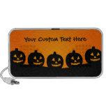 Halloween Illustration Travel Speakers