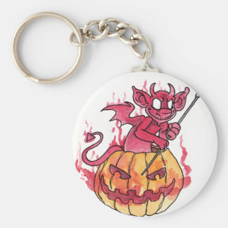 Halloween Imp Keychain