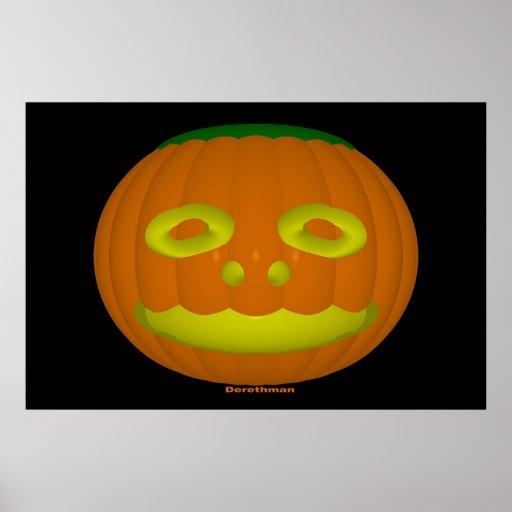 Halloween (impresión) poster