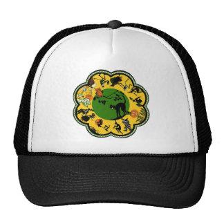Halloween in the Round Trucker Hats