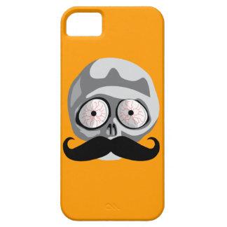 Halloween Inspiried Skull & Mustache Phone Case