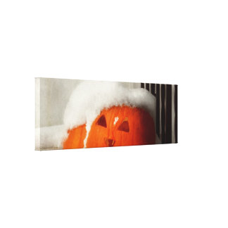 Halloween - invierno - soy frío lona estirada galerias