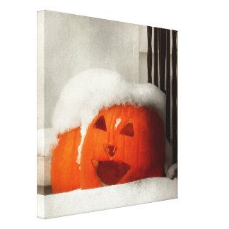 Halloween - invierno - soy frío impresion en lona