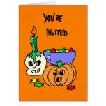 Halloween invita a la tarjeta