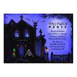 Halloween invita - al fiesta de Halloween de la Invitación 12,7 X 17,8 Cm