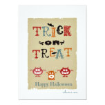 Halloween Invitacion Personal