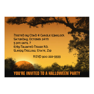 Halloween Personalized Announcements