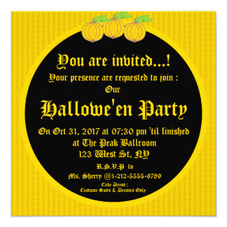 Hallowe'en Invitation 4