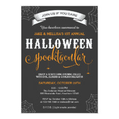 Halloween Invitation / Adult Halloween Party at Zazzle