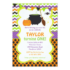 Halloween Invitation / Halloween Birthday Invite at Zazzle