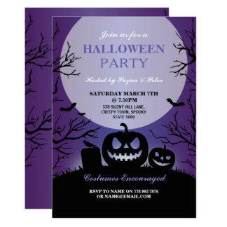 Halloween Invitation Party Pumpkin Carving Fun