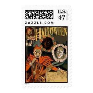 Halloween Invitation Postage Stamps