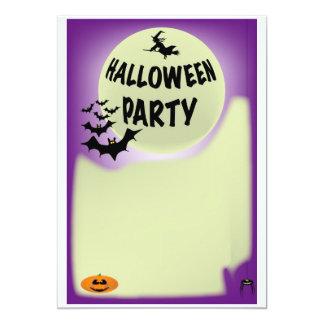 Halloween Invitations. Card